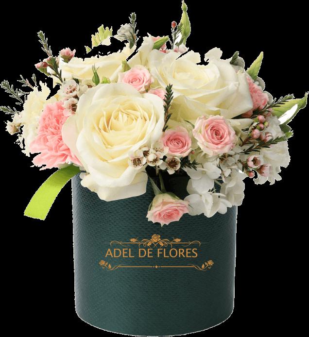 Kwiaty w pudelku adel de flores