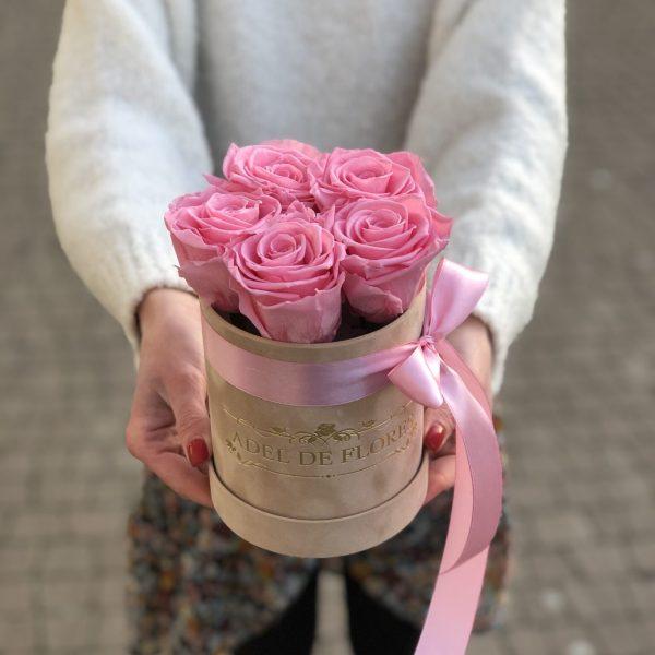 pudełko z wiecznymi różami 7