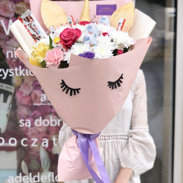 oryginalne bukiet kwiatów